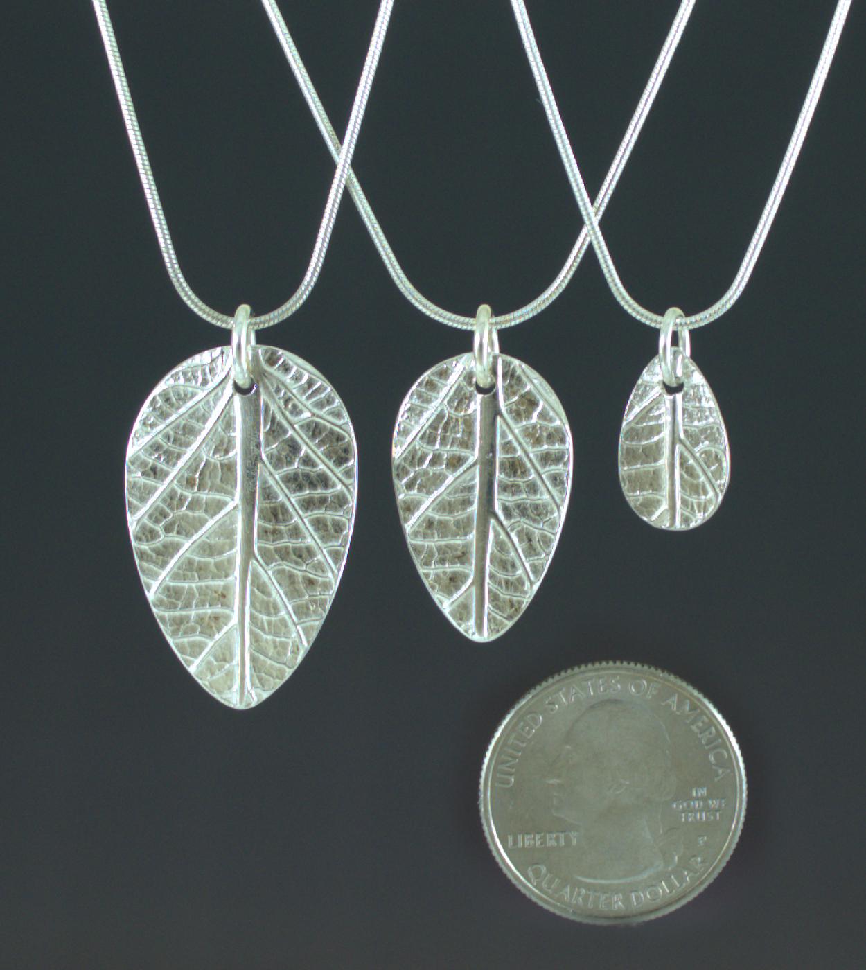 Leaves of Elegance Pendants